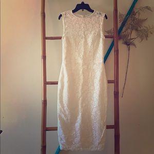 Jill Stuart White Floral Dress